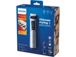 Aparador Corporal multigroom Philips MG7710/15 — Autonomia: 120 min / Wet and dry