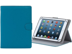 Capa Tablet RIVACASE Orly 3017 (Universal - 10.1'' - Azul) — Para Tablet