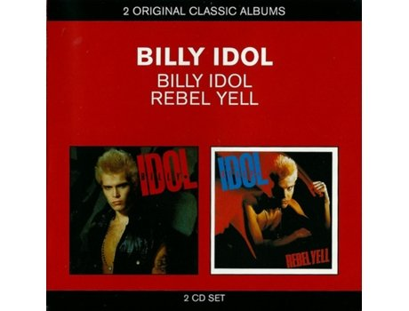 CD Billy Idol - Billy Idol / Rebel Yell