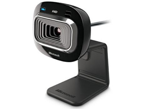 Webcam MICROSOFT Lifecam HD 3000 — 1 MP / C/ microfone