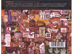 CD Gorillaz - The Singles Collection — Pop-Rock