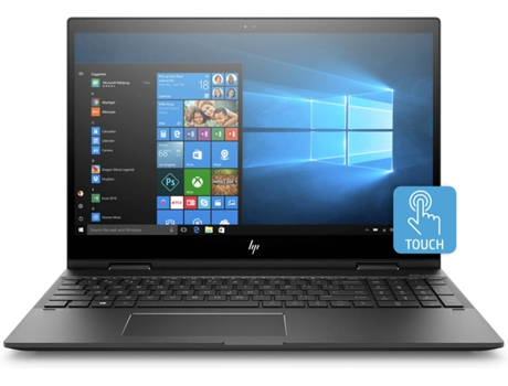 Portátil Híbrido 15,6'' HP Envy x360 15-cn0003np — Intel Core i7-8550U | 16 GB | 256 GB SSD | NVIDIA GeForce MX150