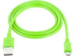 Cabo Micro-USB GRIFFIN GC40594 Verde — USB - Micro-USB | 0.9 m