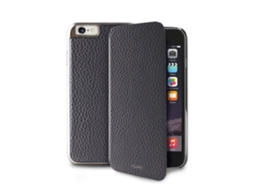 Capa Book iPhone 6 5.5'' Pele PURO Cinzento — Capa / iPhone 6 / 5.5''
