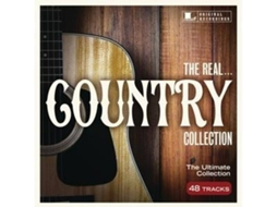 CD Varios Artistas - The Real... Country Collection — Música do Mundo