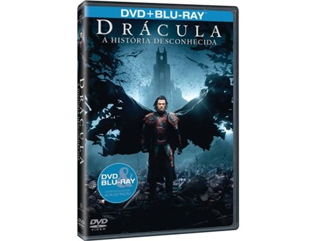 DVD + Blu-Ray Drácula: A História Desconhecida — Do realizador Gary Shore