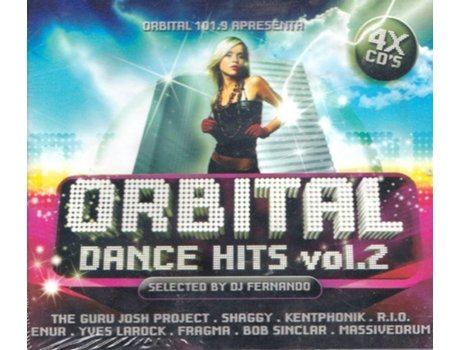 CD Orbital Dance Hits Vol.2 — House / Electrónica