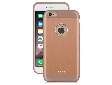 Capa MOSHI Armour Copper iPhone 6 e 6s Plus Castanho — Armour Copper