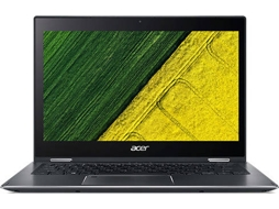 Portátil Híbrido 13.3'' ACER Spin Sp513-52N-5574 — Intel Core i5-8250U / 8 GB /256 GB SSD / Intel HD Graphics 620