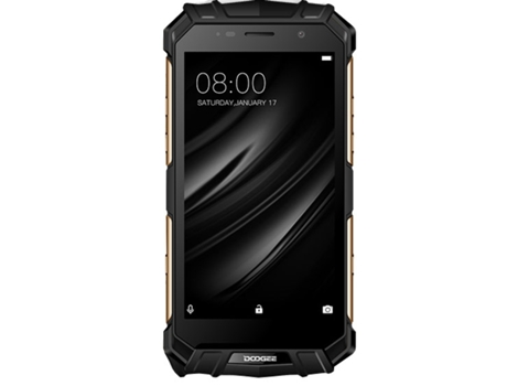 Smartphone DOOGEE S60 64 GB Preto — Android 7.0 | 5.2'' | Octa-core 2.5GHz | 6GB RAM | Dual SIM
