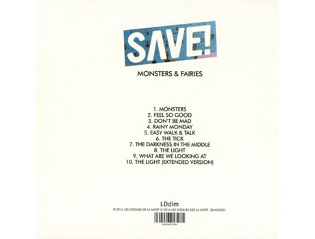 CD Save! - Monsters And Fairies