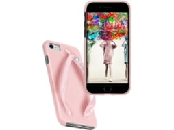 Capa SBS Summer Chic Chinelo iPhone 6, 6s, 7, 8 Rosa — Compatibilidade: iPhone 6, 6s, 7 ,8