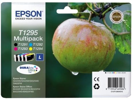 Pack 4 Tinteiro Epson T1295 (425W/320FW)   [4690282 ]