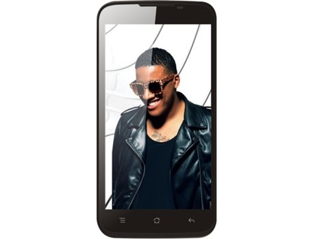 Smartphone BLING Anselmo One Branco — Android 4.4 / 5'' / Octa Core 1.4GHz