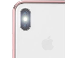 Capa MOSHI Vitros Orchid iPhone X Rosa — Compatibilidade: iPhone X