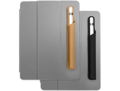 Capa para caneta TWELVE SOUTH PencilPad (Apple Pencil - Bege) — Para Apple Pencil | Em pele