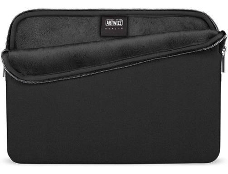 Bolsa ARTWIZZ Neoprene MacBook 12'' Preto — 12''