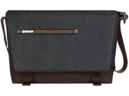 Mala 15'' MOSHI Aerio Messenger em Preto — Para PC / Macbook / Tablet / iPad