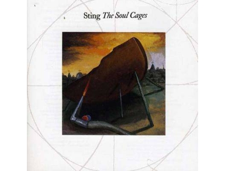 CD Sting - The Soul Cages — Pop-Rock