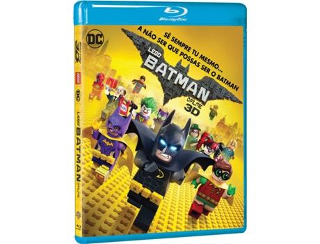 Blu-Ray 3D + 2D Lego Batman: O Filme