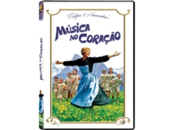 DVD Música No Coração — De: Robert Wise | Com: Julie Andrews, Christopher Plummer, Nicholas Hammond