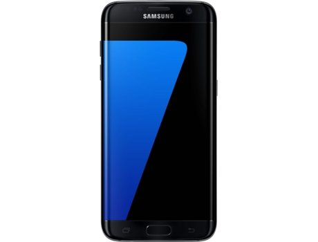 Smartphone SAMSUNG Galaxy S7 Edge 32GB Preto — Android 6.0 / 5.5'' / 4G / Quad Core 2.3 GHz + Quad Core 1.6 GHz