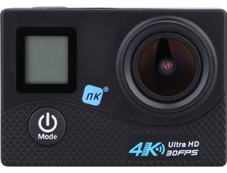 Action cam NK AC3111-DPR (4K - 16 MP - Até 70 min de autonomia - Wi-Fi) | [6242808 ]