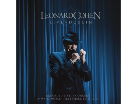 CD/DVD Leonard Cohen Live in Dublin (3 + 1) — Pop-Rock