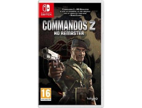Jogo Nintendo Switch Commandos 2 Hd Remaster