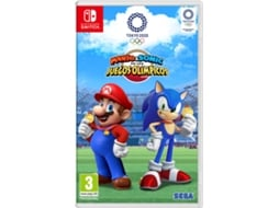 Jogo Switch Mario & Sonic at the Olympic Games Tokyo 2020 (Desporto - M3)