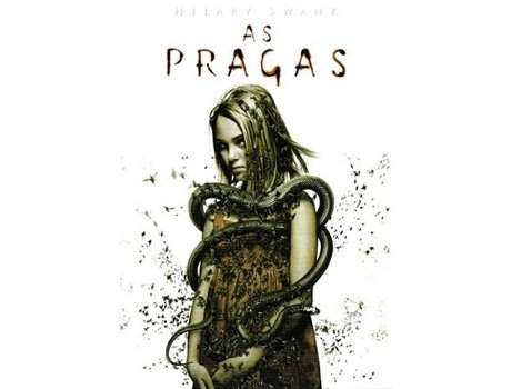 DVD As Pragas — De: Stephen Hopkins | Com: Hilary Swank,David Morrissey,AnnaSophia Robb,Idris Elba,Stephen Rea