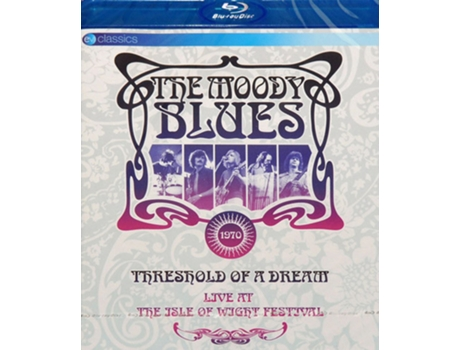 Blu-ray The Moody Blues - Live At The Isle Of Wight Festival Threshold Of A Dream
