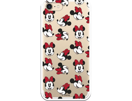 Capa iPhone 7, 8 LA CASA DE LAS CARCASAS DISNEY Minnie Multicor