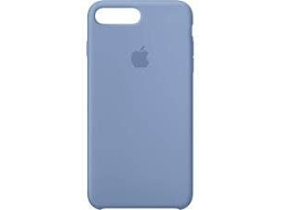 Capa APPLE Silicone Azure iPhone 7 Plus, 8 Plus Azul — Compatibilidade: iPhone 7 Plus, 8 Plus