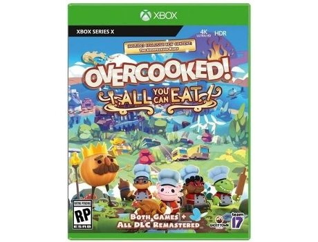 Jogo Xbox Series X Overcooked All You Can Eat