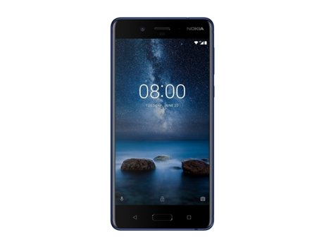 "Smartphone NOKIA 8 64 GB Azul — Android 7.1.1 / 4G / 5.3"" / Qualcomm Snapdragon 835 2.5"