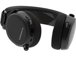 Microauscultadores Gaming STEELSERIES Arctis 7 em Preto — Wireless | 20-20000 Hz