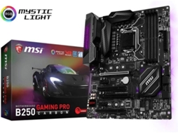 Motherboard MSI B250 GAMING PRO CARBON — LGA1151 / B250