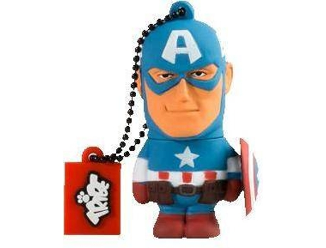 Pen USB 3D TRIBE Marvel Captain America 16 GB — 16 GB | USB 2.0