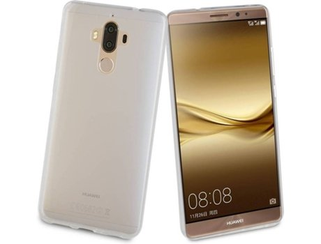 Capa Huawei Mate 9 MUVIT Crystal Soft Transparente — Compatibilidade: Huawei Mate 9