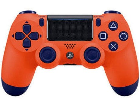 Comando PS4 DUALSHOCK Sunset Orange  — Sem Fios