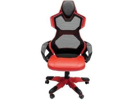 3e9c5107975 Cadeira Gaming E-BLUE Cobra III Vermelho
