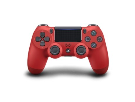 Comando PS4 Dualshock Magma Red v2 — PS4