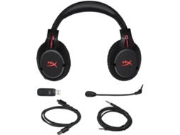 Microauscultadores Gaming HYPERX by Kingston Cloud Flight em Preto — Wireless