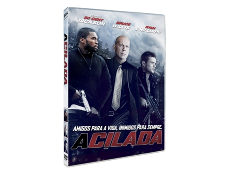 DVD A Cilada — De: Mike Gunther | Com: 50 Cent,Bruce Willis,Ryan Phillippe,Jenna Dewan-Tatum,  James Remar