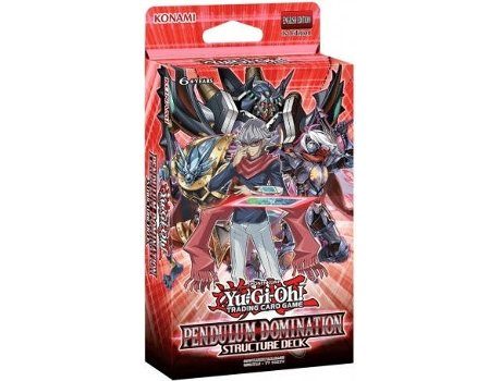 Pack Yu-Gi-Oh! Pendulum Domination Structure Deck — 1 Pack