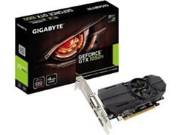 Placa Gráfica GIGABYTE GeForce GTX 1050Ti OC Low Profile (NVIDIA - 4 GB DDR3) — NVIDIA | GTX 1050 TI