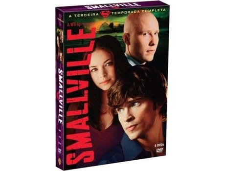 DVD Smallville - Temporada 3 — De: Alfred Gough,Miles Millar | Com: Tom Welling,Kristin Kreuk,Michael Rosenbaum,Allison Mack,Eric Johnson