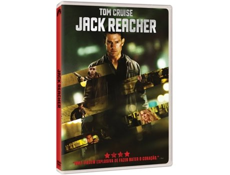 DVD Jack Reacher — De: Christopher McQuarrie | Com: Tom Cruise, Rosamund Pike, Richard Jenkins