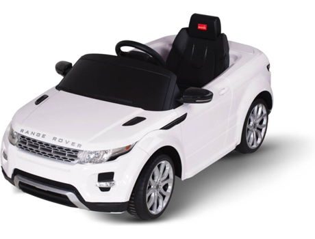 Mini-Carro LAND ROVER Evoque Branco — Autonomia: 5 km